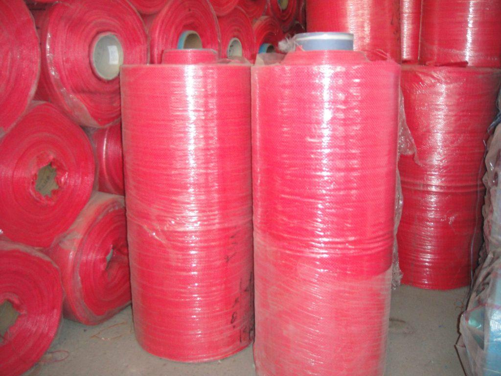 رول عرض 70 قرمز