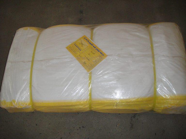کیسه پلي پروپيلن  60 در 110 بغل زرد